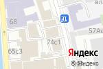 Схема проезда до компании Промбезопасность в Москве
