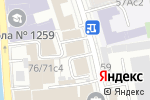 Схема проезда до компании Вертикаль в Москве