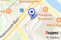 Схема проезда до компании НОТАРИУС БАХТАДЗЕ Э.Ю. в Москве