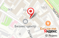 Схема проезда до компании Торгинвест в Москве