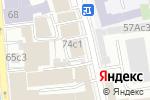 Схема проезда до компании Совтэк-Холдинг в Москве