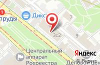 Схема проезда до компании Рускамень в Москве