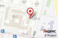 Схема проезда до компании Тех-Асс в Москве