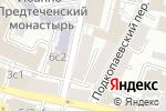 Схема проезда до компании Printom в Москве