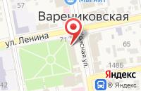 Схема проезда до компании Фабрика Дышащих Окон в Варениковской