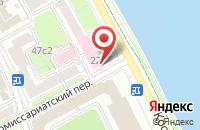 Схема проезда до компании ТрейдСервис в Москве