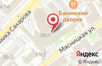 Схема проезда до компании Информационно-Издательский Центр  в Москве