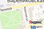 Схема проезда до компании Vitta в Варениковской