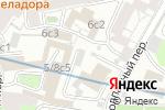 Схема проезда до компании Творческие мастерские Матвеева в Москве
