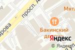 Схема проезда до компании Моя Бабушка в Москве
