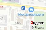 Схема проезда до компании Национальный союз организаций в области обеспечения пожарной безопасности в Москве