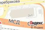 Схема проезда до компании Экодор в Москве
