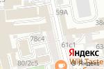 Схема проезда до компании Hostelciti в Москве