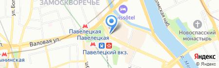 Адвокаты Москвы на карте Москвы