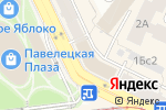 Схема проезда до компании ЭР-Телеком в Москве