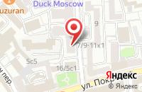 Схема проезда до компании Рейм в Москве