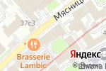 Схема проезда до компании Акуба в Москве