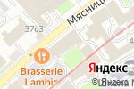 Схема проезда до компании Инфофлот Москва в Москве