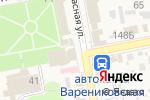 Схема проезда до компании Магазин одежды в Варениковской