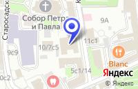 Схема проезда до компании САЛОН КАРНИЗОВ в Москве