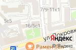 Схема проезда до компании КБ Тальменка-банк в Москве