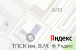 Схема проезда до компании Время футбола в Москве