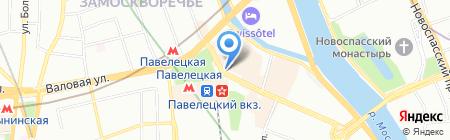 Мир путешествий на карте Москвы