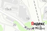 Схема проезда до компании Психиатрия и психофармакотерапия в Москве