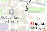 Схема проезда до компании Твой Дизайн в Москве