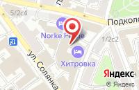 Схема проезда до компании Топ Пресс в Москве