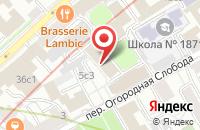 Схема проезда до компании Академия Безопасности Бизнеса в Москве