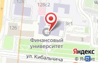 Схема проезда до компании Финансист в Москве