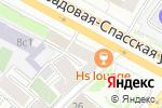 Схема проезда до компании Charity Shop в Москве