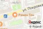 Схема проезда до компании Белые облака в Москве