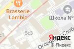 Схема проезда до компании Фейерверк Универсал в Москве