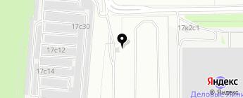 Терминал на карте Москвы