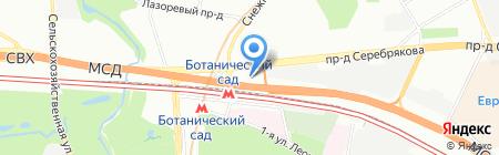 МегаВан на карте Москвы