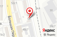 Схема проезда до компании Тдс в Москве