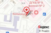 Схема проезда до компании Би Эм Проект в Москве