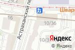 Схема проезда до компании Магазин бижутерии в Астраханском переулке в Москве