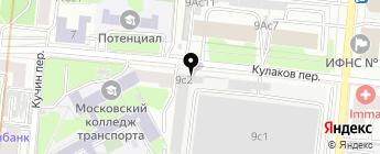 Джаз-Авто на карте Москвы