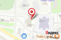Схема проезда до компании Санрайз-Ам в Москве