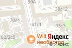Схема проезда до компании Continent в Москве