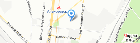 Елегри на карте Москвы