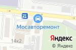Схема проезда до компании Трикветра в Москве