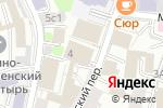 Схема проезда до компании Дабл Би в Москве