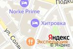 Схема проезда до компании РБК в Москве