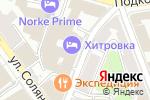 Схема проезда до компании Инфомайн в Москве