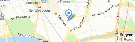Туртранс-Вояж на карте Москвы