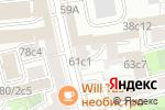 Схема проезда до компании Hair-Room в Москве